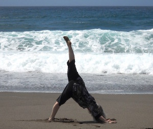 Susan-yoga-beach1 crop